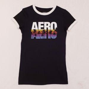 Aeropostale Ringer Tshirt